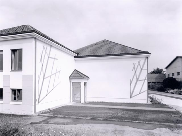 sabina hörtner, design of the facade of frauenhofen primary school