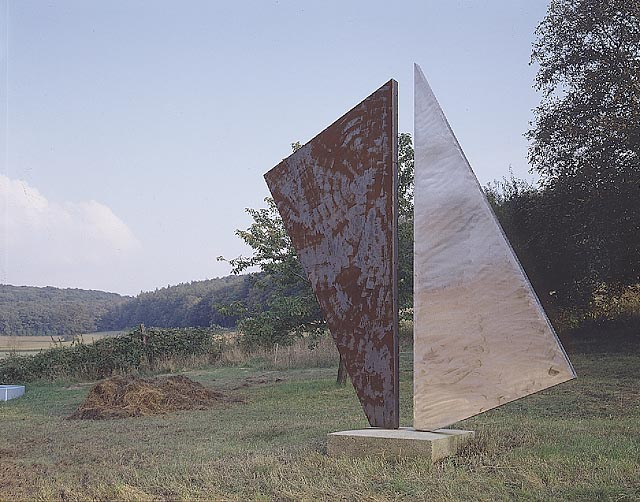 robert marschall, metal sculpture at the kulturhaus winkelau in loosdorf