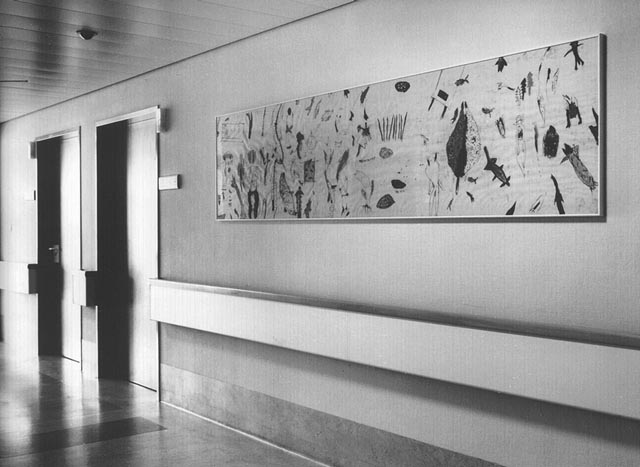 emi rendl-denk, art in hollabrunn hospital
