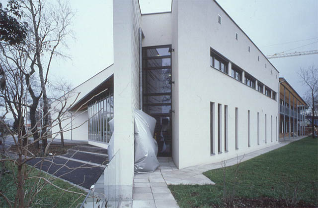 martin walde, design work at the elementary school building in seyring