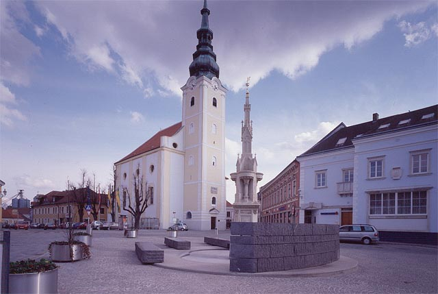 gerhard mitterberger, design of hauptplatz in gföhl<br />
