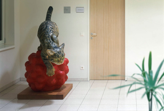 karin frank, sculpture for hainfeld regional senior citizens and care home<br />