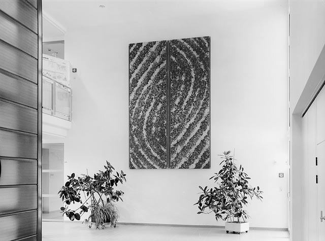 irena rosc, wall pieces at the mistelbach hospital