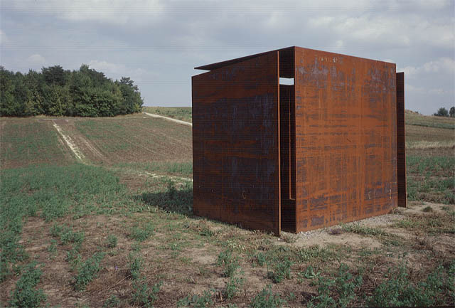 eva afuhs, wind-cube house for the cultural landscape of paasdorf
