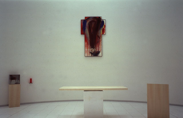 arnulf rainer, installation in the government district
